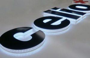 letreros iluminados