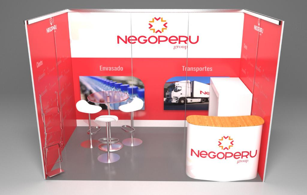 Display para Negoperu